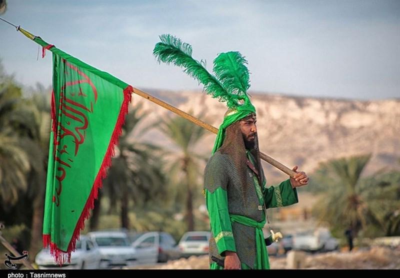 اختتامیه سوگواره کشوری تعزیه خوانی با حضور وزیر ارشاد در جم برگزار میشود+تصاویر