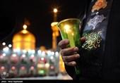 حال و هوای بارگاه رضوی در روز شهادت امام رضا(ع)+فیلم
