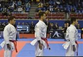 کاراته قهرمانی جهان| تلاش کاتای تیمی مردان برای کسب مدال برنز