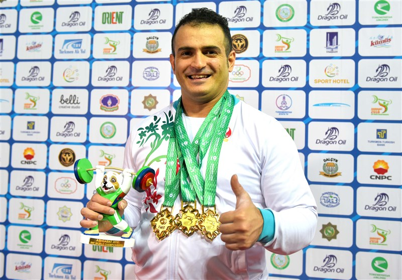 Iran's Moradi Wins Gold at West Asian Championship