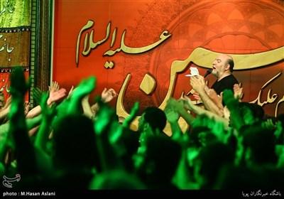 مداحی حسین سازور در مراسم عزاداری شهادت امام رضا(ع) - هیئت موج الحسین