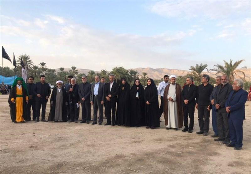وزیر ارشاد در جم: «تعزیه» تنها هنر ایرانی بیمانند در جهان است