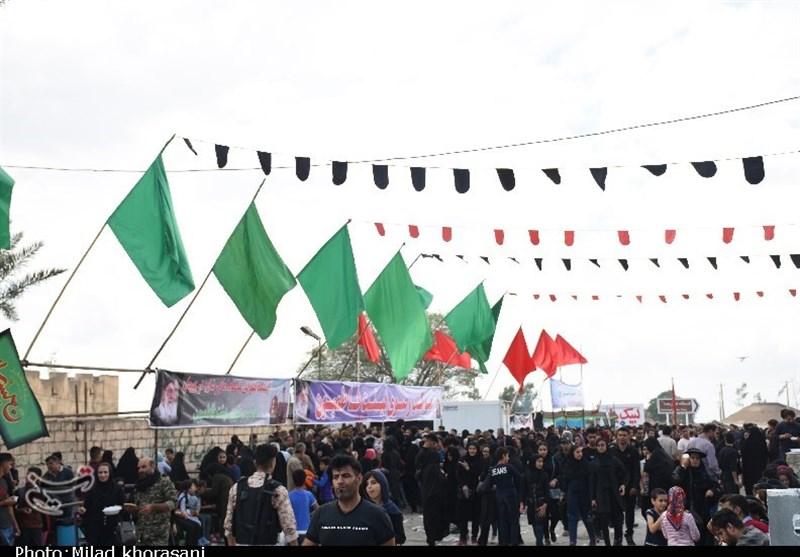 اجتماع مردم بهبهان در قدمگاه امام رضا(ع)+ تصویر