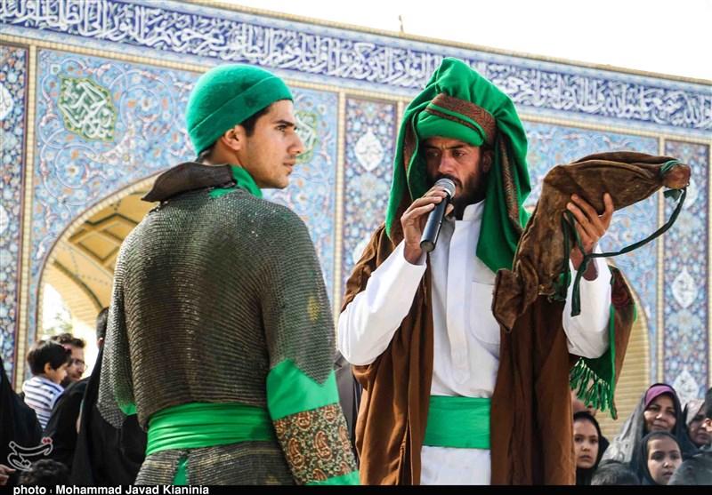 آئین تعزیهخوانی در جوپار کرمان به روایت تصویر