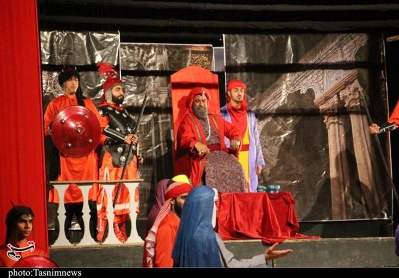اجرای نمایش مذهبی «حدیث عشق» در گرگان+ تصاویر