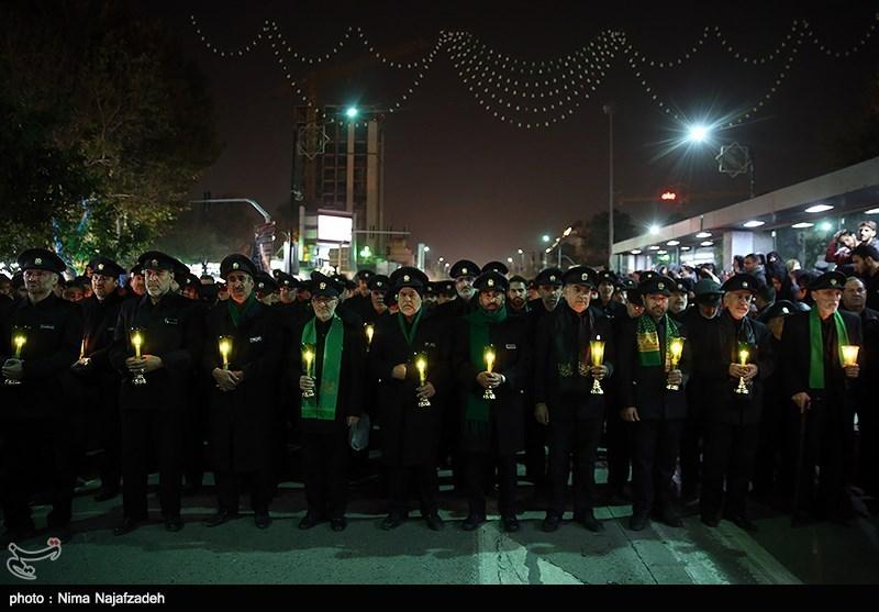 شام غریبان عاشورای حسینی در بارگاه منور رضوی برگزار شد