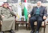 اخبار فلسطین| حضور سفیر قطر در منزل هنیه/ 4 فلسطینی در کرانه باختری بازداشت شدند