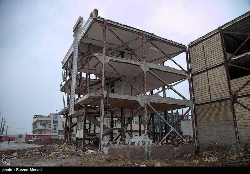 مناطق زلزله زده کرمانشاه یکسال پس از زلزله