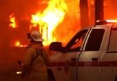 آتش سوزی گسترده کالیفرنیا هزاران نفر را سرگردان کرد+فیلم و عکس