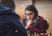 شطرنج قهرمانی بانوان جهان| تساوی مبینا علینسب با نفر ششم رنکینگ جهانی