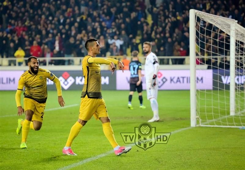 سوپر لیگ ترکیه | شکست ترابزوناسپور در حضور 54 دقیقهای مجید حسینی و نیمکتنشینی وحید امیری
