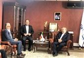 دیدار شیخ سلمان با سلطانیفر در وزارت ورزش