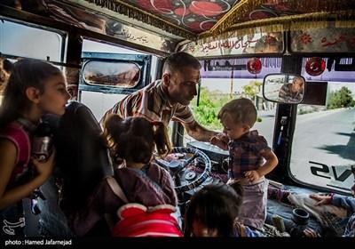 """سرویس مدرسه ابتدایی در منطقه """"الصبوره """" استان ریف دمشق"""
