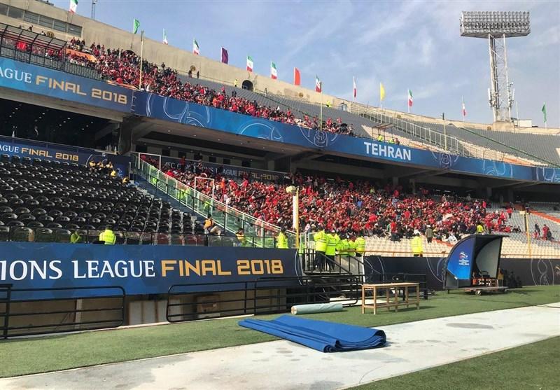 VIP ورزشگاههای ایران محلی برای اقوام، بستگان و سایر دوستان و آشنایان