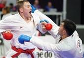 کاراته قهرمانی جهان| سومین مدال جهانی گنجزاده رنگ نقره گرفت