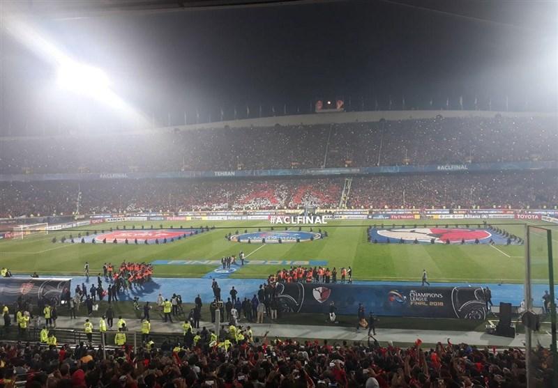 حاشیه بازی پرسپولیس - کاشیما آنتلرز| جام قهرمانی در دستان پروین و حضور جهانگیری/ تشویق ژاپنیها در هیاهوی آزادی + فیلم