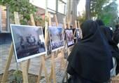 همدان|نمایشگاه عکسهای برتر جشنواره ملی وقف افتتاح شد