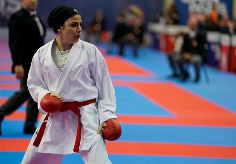 Karate World C'ships: Iranian Woman Bahmanyar Wins Bronze