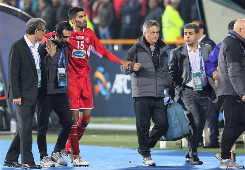 Persepolis Defender Ansari Undergoes Successful Knee Surgery