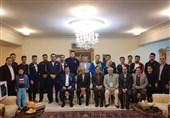 وزنهبرداری قهرمانی جهان| حضور اعضای تیم ملی در سفارت ایران+ تصاویر