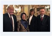 دیدار روسای جمهور ترکیه و آمریکا در حاشیه ضیافت شام ماکرون