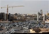 وضعیت نامناسب پروژه ضلع شرقی حرم حضرت معصومه(س) به روایت تصویر
