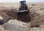 خوزستان  لاشههای مرغهای کشف شده به صورت اصولی و بهداشتی دفن شد