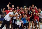 پایانِ خوش سال 2018 برای ساحلیبازان فوتبال ایران