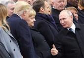 """الیزه میزبان ترامپ و پوتین در """"روز پایان جنگ"""" + تصاویر"""
