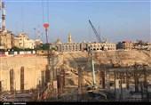 کرمان| فاز نخست پروژه صحن عقیله ساخت مهمانسرا برای زائران حسینی است