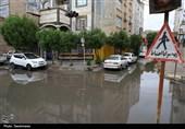 خوزستان| احتمال بارندگی در مسجدسلیمان و جاری شدن سیل در سطح شهر