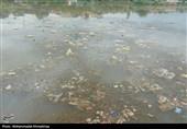 خوزستان  انبار زبالهها در کنار قدیمیترین پل جهان + تصویر