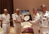 دریادار خانزادی با فرمانده نیروی دریای هند دیدار کرد