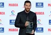 فوتبال جهان  معرفی برترینهای لالیگا؛ لیونل مسی جایزه «پیچیچی» و «دیاستفانو» را دریافت کرد