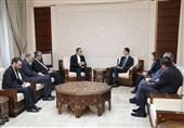 مباحثات الایرانیة - سوریة تتناول العلاقات الثنائیة ومستجدات الوضع الاقلیمی