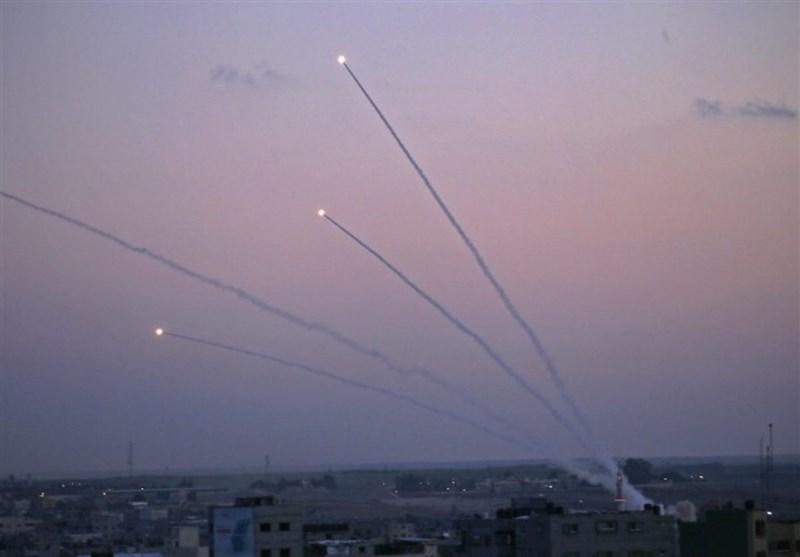 فلسطین| حملات موشکی مقاومت به شهرکهای صهیونیست نشین