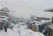 گلگت بلتستان کے بالائی علاقوں میں شدید برفباری کا سلسلہ جاری