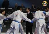 تقدیم هتتریک قهرمانی کومیته تیمی مردان به مرحوم علی شاطرزاده