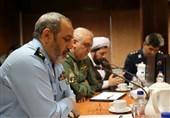 دیدار فرمانده نیروی هوایی ارتش با خلبانان پایگاه مهرآباد