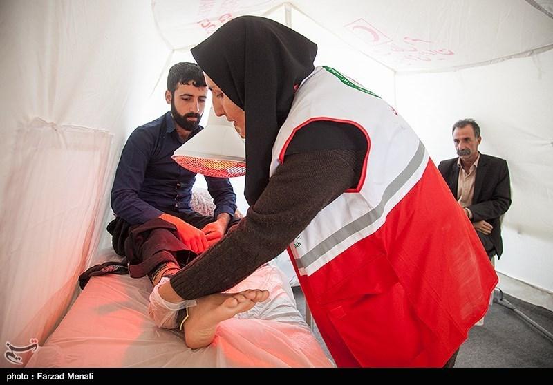 آمار مصدومان زلزله استان کرمانشاه به 420 نفر رسید