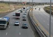 انسداد 8 ساعته آزادراه خلیج فارس در مسیر قم – تهران