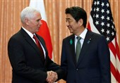 """""""حفظ تحریمها"""" علیه کره شمالی, نتیجه سفر معاون ترامپ به ژاپن"""