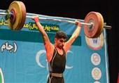 لیگ برتر وزنهبرداری| صبح مفرح صدرنشین دسته 55 کیلوگرم شد