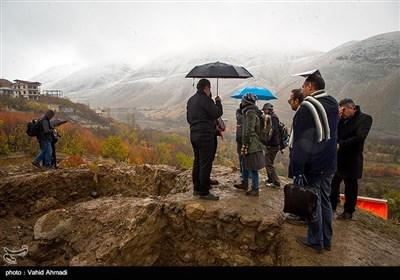 بازدید خبرنگاران از قلعه