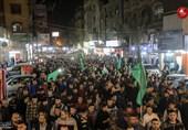مسیرات فی غزة احتفالاً بالنصر ودعماً للمقاومة