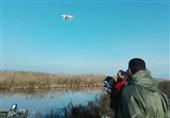 «پایش پهپادی» در مناطق تحت حفاظت محیط زیست گیلان آغاز شد