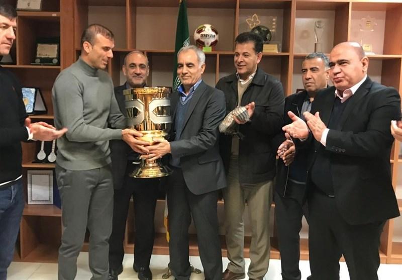 نامه رسمی باشگاه پرسپولیس به سازمان لیگ برای دریافت جام قهرمانی سوپرجام