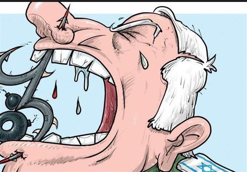 کاریکاتورهای جهان عرب | از پیشنهاد بن سلمان به ترامپ تا خار در گلوی ارتش اسرائیل!