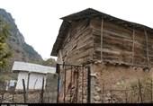 """خانههای گلی روستای """"چاکنک"""" اشکورات گیلان به روایت تصویر"""