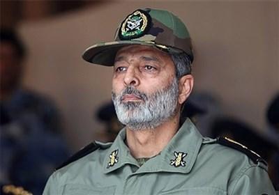 القائد العام للجیش الإیرانی یعتبر انتصار المقاومة فی غزة صفحة جدیدة امام الکیان الصهیونی